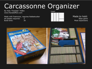 showcase for carcassonne